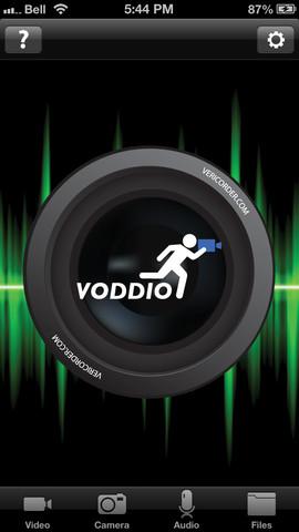 Test Voddio 1 Lapplication gratuite du jour: Voddio  Video Audio Editor