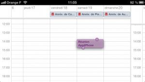 astuce calendrier 2 300x169 Astuce iOS : Ajouter rapidement un évènement au calendrier