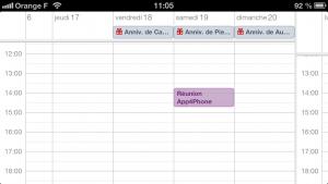 astuce calendrier 300x169 Astuce iOS : Ajouter rapidement un évènement au calendrier
