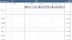 astuce calendrier 4 300x169 Astuce iOS : Ajouter rapidement un évènement au calendrier