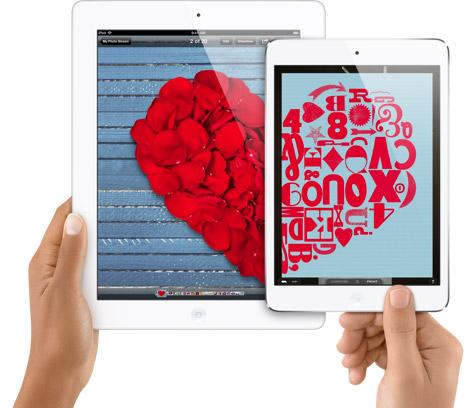 ipad saint valentin Lamour est au rendez vous sur lApple Store