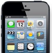 iphone 5 thumb 2 Les ventes de smartphones dépassent celles des téléphones mobiles !