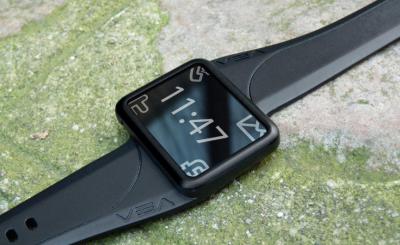 Buddy montre noire Buddy : La montre connectée française! (113€)
