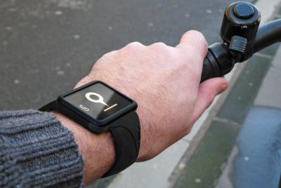 Buddy vélo Buddy : La montre connectée française! (113€)