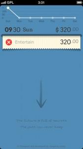 Copie décran 11 168x300 Test de DailyCost : Pour un suivi de vos dépenses (1,79€)