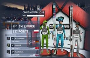 Copie décran 25 300x195 Test de Ski Jumping Pro : Sautez aussi loin que vous le pouvez (promo à 0,89€)