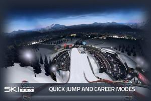 Copie décran 33 300x200 Test de Ski Jumping Pro : Sautez aussi loin que vous le pouvez (promo à 0,89€)