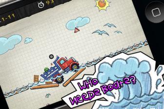 Doodle truck 2 Les bons plans de lApp Store ce lundi 5 août 2013