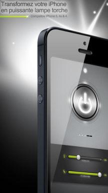 FlashLed 1 Lapplication LED Lampe est gratuite en partenariat avec App4Phone