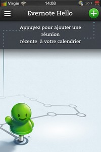 IMG 2829 Lapplication gratuite du Jour : Evernote Hello