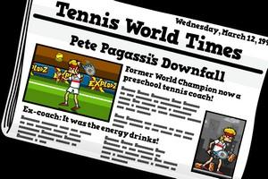 IMG 2838 Tennis In The Face : exercez vos services dune drôle de manière...(1,79€)