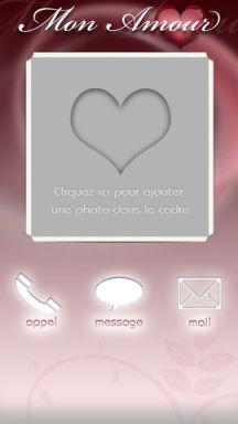 Mon amour 1 Lapplication Mon Amour V2 est gratuite en partenariat avec App4Phone