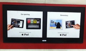 Pub iPad Elementary 300x179 Apple : de la communication sur les applications pour iPad