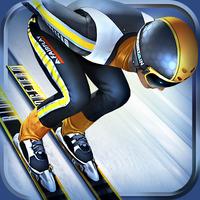 Ski Jumping Pro Image à la une Test de Ski Jumping Pro : Sautez aussi loin que vous le pouvez (promo à 0,89€)
