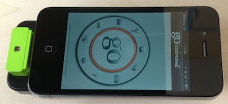 TestGoUniversal 025 Test de lapplication Go Universal (4,49€), indispensable aux propriétaires de projecteurs