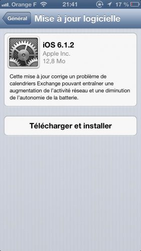iOS 6 1 2 281x500 iOS 6.1.2 disponible