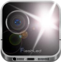 icon flash led Lapplication LED Lampe est gratuite en partenariat avec App4Phone