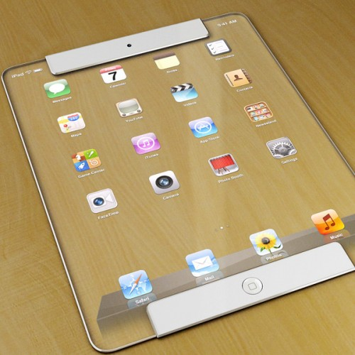 ipad transparent 2 500x500 Concept : un iPad transparent !