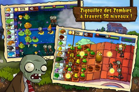 plantes VS zombies Plantes contre Zombies exceptionnellement gratuit !