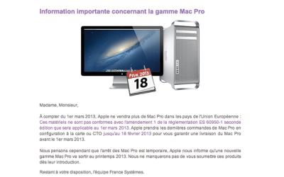 rumeur Mac Pro Les rumeurs de la semaine: Mac Pro, puce 5G Wifi, iPhone 6...