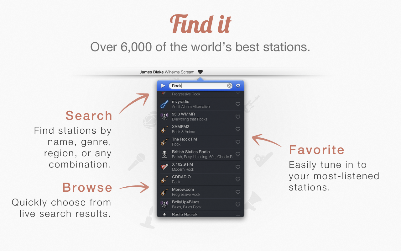 1 Find App4Mac: Radium 3, toutes les radios web sur votre Mac (8,99€)