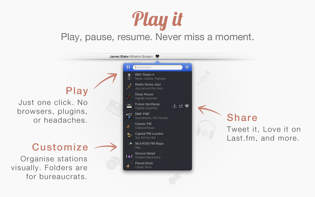 2 Play App4Mac: Radium 3, toutes les radios web sur votre Mac (8,99€)