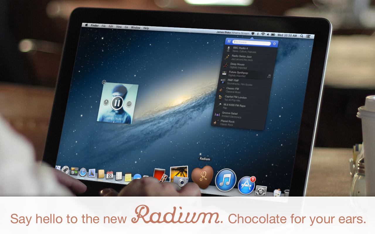 5 Title Card App4Mac: Radium 3, toutes les radios web sur votre Mac (8,99€)
