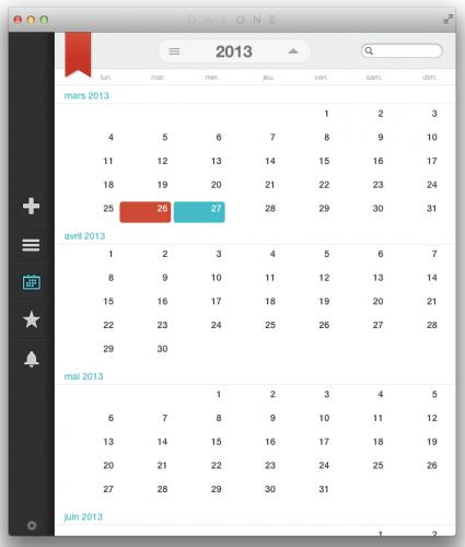 Capture d'écran 2013 03 26 à 16.32.17 425x500 App4Mac: Day One, le plus beau journal pour votre Mac (8,99€)