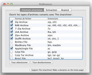 App4Mac: TimeMachineEditor et The Unarchiver, 2 indispensables pour