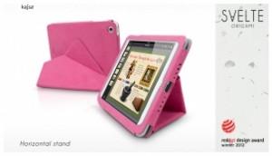 Etui Kajsa SVELTE ORIGAMI pour iPad Mini 300x172 Accessoire : très belles promotions cette semaine ( 50% sur une collection détuis)