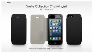 Etui Kajsa Svelte Multi Angle pour iPhone 5 300x172 Accessoire : très belles promotions cette semaine ( 50% sur une collection détuis)