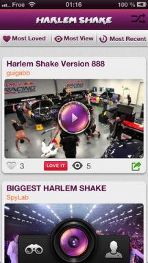 Harlem 1 Lapplication gratuite du jour : Harlem Shake App   Le buzz du moment aussi sur iPhone !