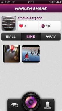 Harlem 2 Lapplication gratuite du jour : Harlem Shake App   Le buzz du moment aussi sur iPhone !