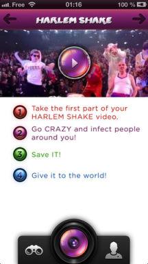 Harlem 3 Lapplication gratuite du jour : Harlem Shake App   Le buzz du moment aussi sur iPhone !