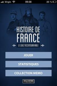 IMG 0274 Concours : 10 codes à gagner de Quiz Histoire de France : (0,89€)