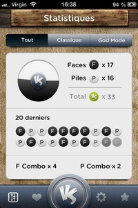 IMG 0437 Lapplication gratuite du Jour : Pile Vs Face