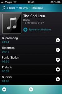 IMG 0458 iPlayer : Une alternative au lecteur iPod trop limitée ... (0,89€)