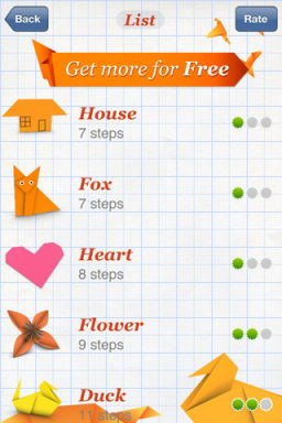 Origami 1 Lapplication gratuite du jour : How To Make Origami