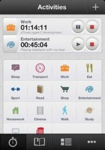 aTimeLogger 2 resultat 209x300 Édition spéciale des bons plans de l'App Store, ce vendredi 29 Mars 2013