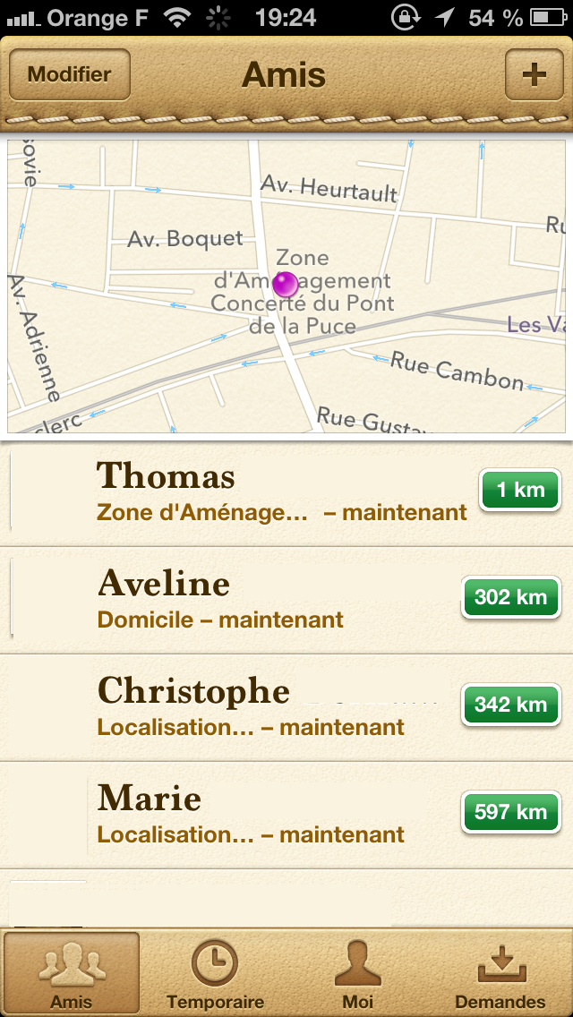 Localiser L Iphone D Un Ami