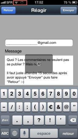 bug commentaire V4 2 App4Phone : Explications sur les problèmes pour poster un commentaire