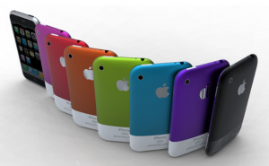 iPhone coloré 300x185 Apple recrute un ingénieur pour colorer ses iPhone ?