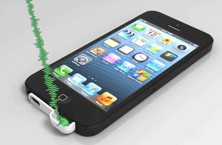 accessoire ipliflier 8 amplifie le son de votre iphone 5. Black Bedroom Furniture Sets. Home Design Ideas