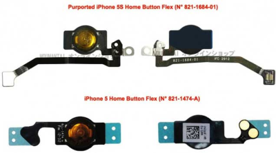 rumeur iPhone 5S bouton home Les rumeurs de la semaine: Keynote, iPhone 5S, iPhone low cost...