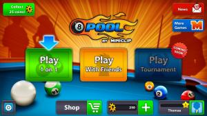 8ball 300x169 Test de 8ball Pool (0,89€): du billard, du vrai