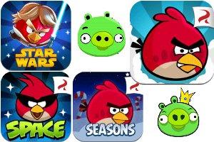 AngryBirdsPack Angry Birds : les oiseaux enragés battent de laile