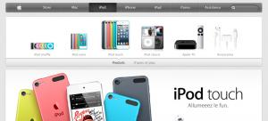 Apple Store en ligne 300x136 LApple Store soffre un petit lifting