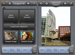 Copie décran 1 300x220 Test de Tangled Fx (1,79€) : Les logiciels de retouche sont ils tous indispensables ?