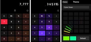 Copie décran 12 300x139 Test de Llumino (1,79€) : La calculatrice ultra design