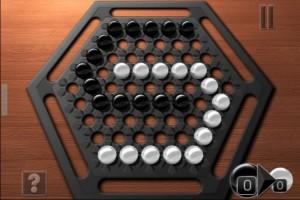 Copie décran 14 300x200 Test de Abalone (2,69€) : Un beau jeu de société sur iPhone !